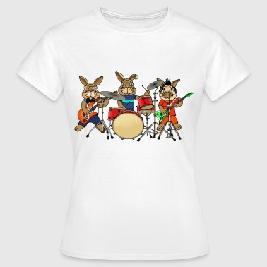 Rabbit music band - Women's T-Shirt
