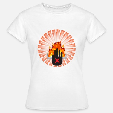 Atomic Bomb NO to the Atomic Bomb - Women's T-Shirt