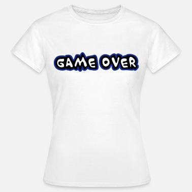 Over Game Game Over - Women's T-Shirt