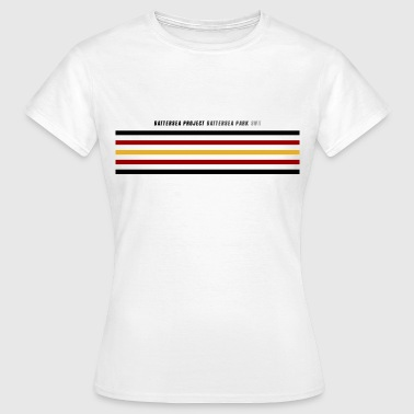 Postcode and hoops - Women's T-Shirt