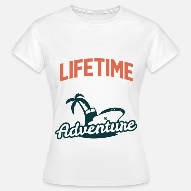Modernist Lifetime adventure 2 - Frauen T-Shirt