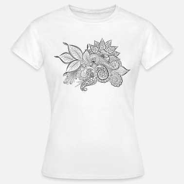 Tunisia FLOWER - abstract. - Women's T-Shirt