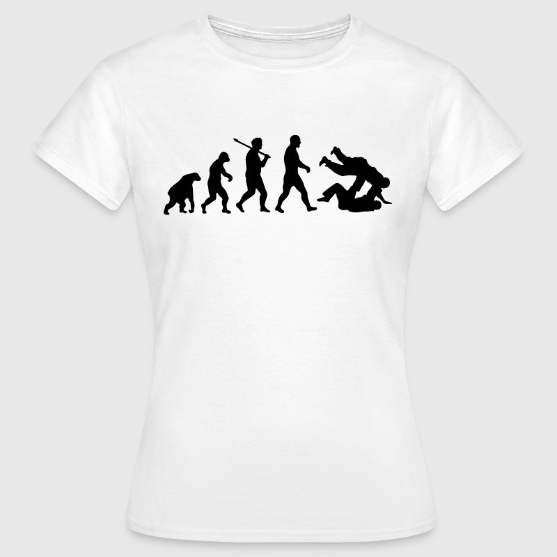 Evolution: Judo Jiu Jitsu - Frauen T-Shirt