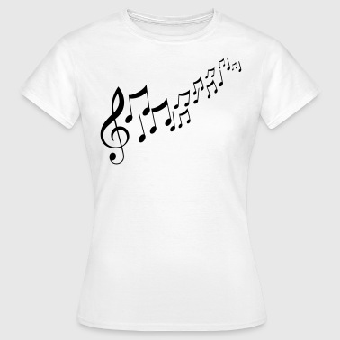 Music Notes Musik Noten - Frauen T-Shirt