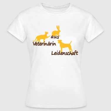 veterinaerin - Frauen T-Shirt