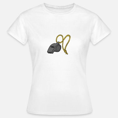 Referees Whistle referee - referee whistle - Women's T-Shirt