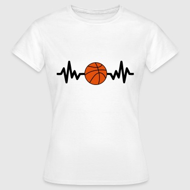 basket basketball is life - Le basket c'est la vie - T-shirt Femme