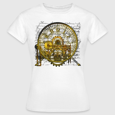 Steampunk Time Machine #2 T-Shirt - Naisten t-paita