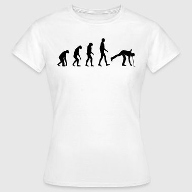 Evolution golf - Dame-T-shirt