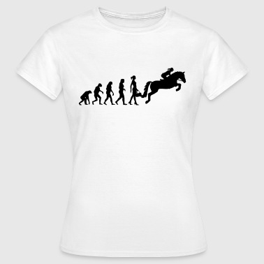 Evolution Ladies Springreiten - Frauen T-Shirt