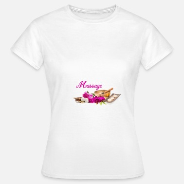 Massage-shirt T-Shirt mit Massage - Frauen T-Shirt