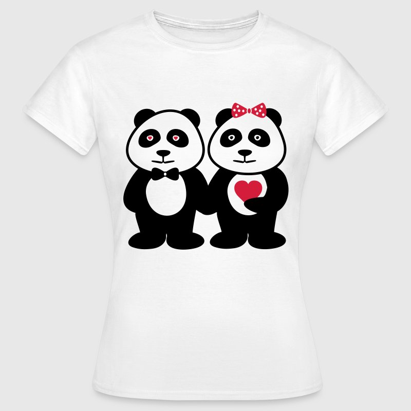 COUPLES PANDA - Women's T-Shirt