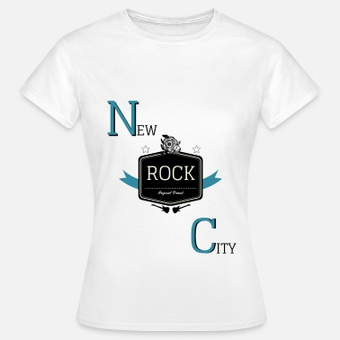 New Orleans New Rock City - T-shirt Femme