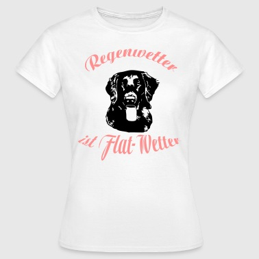 Flat Coated Retriever Flat-Wetter - Frauen T-Shirt