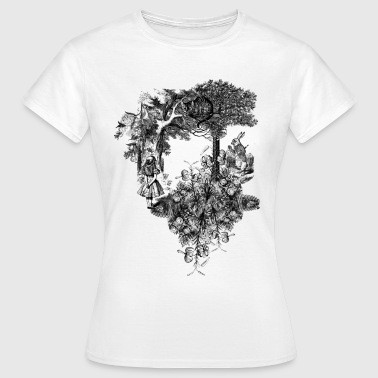 Alice Collage - Women's T-Shirt