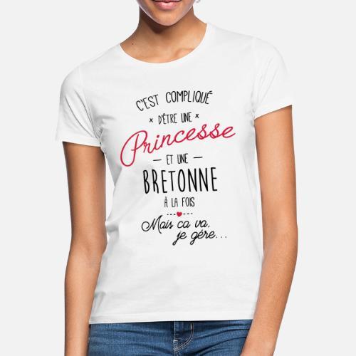 e03f2d4bbaba princesse et bretonne T-shirt Femme