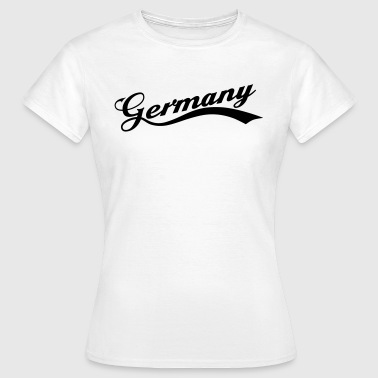 Bierschrift Germany Retro 2014 - Frauen T-Shirt