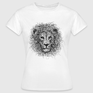 Scribble Lion Scribble - Women's T-Shirt