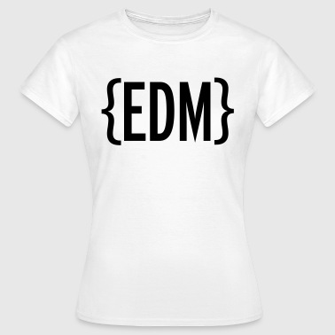 EDM Brackets - Frauen T-Shirt