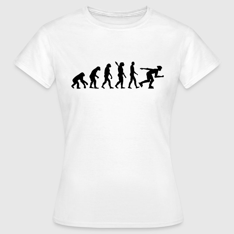 Evolution Inline Skating - Frauen T-Shirt