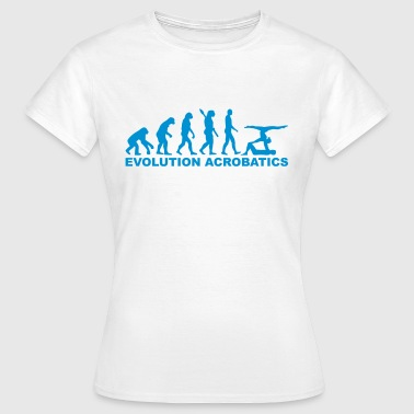 Akrobatik Evolution Akrobatik - Frauen T-Shirt