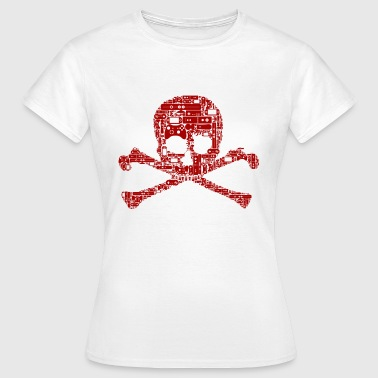 Gamer skull - Women's T-Shirt