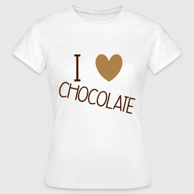 Sweets N Treats I Love Chocolate - T-shirt Femme