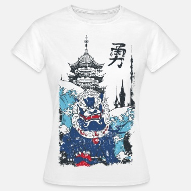 Chinese Monster - Frauen T-Shirt
