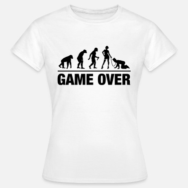 Bride And Groom Evolution Bride And Groom - Frauen T-Shirt