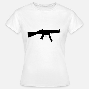 Machinepistool MP5 - Vrouwen T-shirt