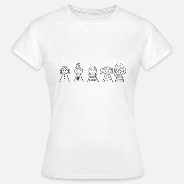 Girls Power - T-shirt dam