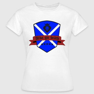Scotland flag highlands gift - Women's T-Shirt