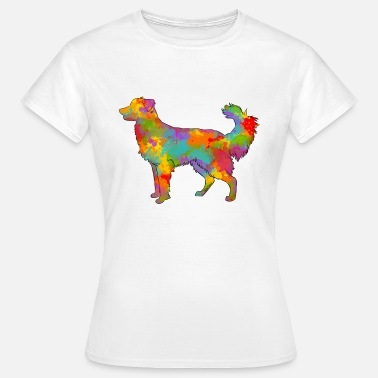Ion Ion Creation Berger des Pyrénées Face Rase Multicolore - T-shirt Femme