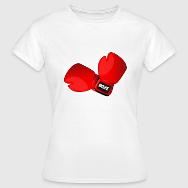 Boxing Glove Red boxing gloves boxing gloves - Women's T-Shirt