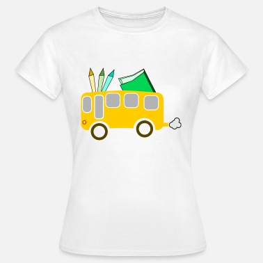 Mode Of Transport school bus coach omnibus school bus verkehr34 - Women's T-Shirt