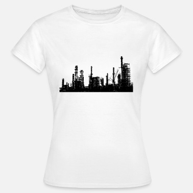 Oil Gas Oil refinery industry - Women's T-Shirt