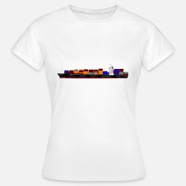 Container Container ship - Women's T-Shirt