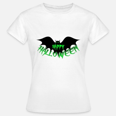 Dracula Bat Happy Halloween, bat, vampire, Dracula - Women's T-Shirt