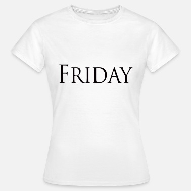 Elton Friday black - Women's T-Shirt
