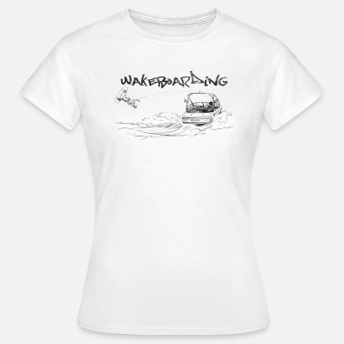 Wakeboarding wakeboarding - Women's T-Shirt