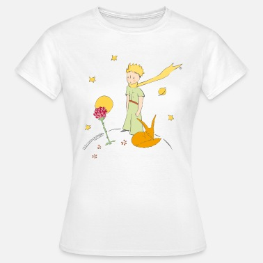 Little Prince The Little Prince Travels With Birds - Women's T-Shirt