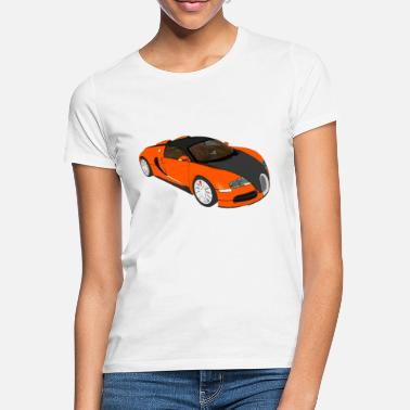 Super Sport Sports car Super sports car racing car convertible - Women's T-Shirt