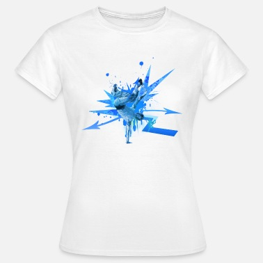 Breakdance Music Hiphop Breaker Breakdance Bboy Sport Dance Music - Vrouwen T-shirt