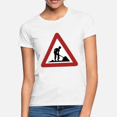 Byggeplads byggeplads - T-shirt dame