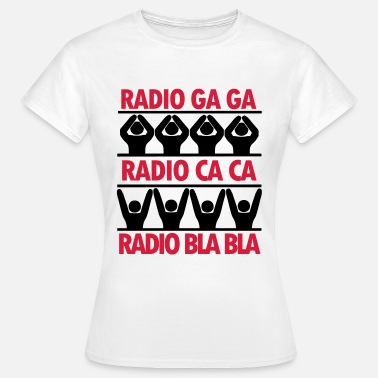 Brian May radio ga ga t-shirt - Women's T-Shirt