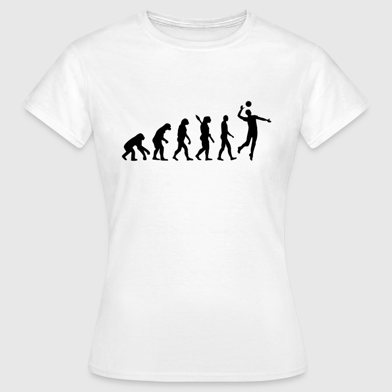 Evolution Volleyball - Frauen T-Shirt