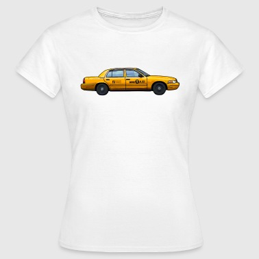 Yellow Cab NYC taxi New York yellow cab t-shirt gift idea - Women's T-Shirt