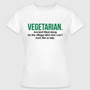 Scottish Slang Vegetarian Tribal Slang - Women's T-Shirt