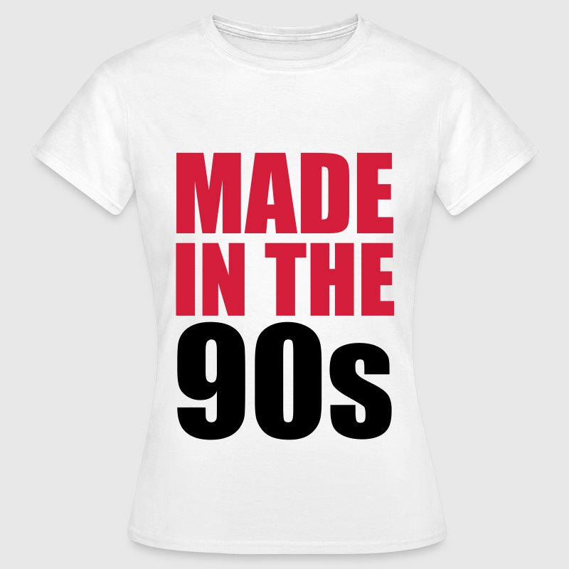 Made In The 90s - Vrouwen T-shirt