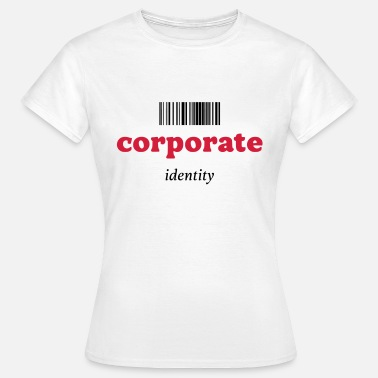 Corporate CORPORATE IDENTITY - ANONYMOUS - BARCODE - Dame-T-shirt
